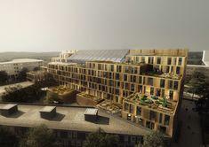 Schmidt Hammer Lassen to Design New Facility for University in Utrecht,© Schmidt Hammer Lassen