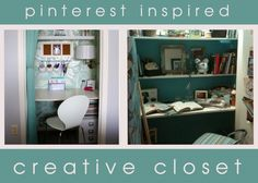 Pinterest inspired Creative Closet
