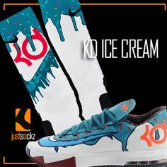 KD ICe Cream only at Just Sockz www.justsockz.com