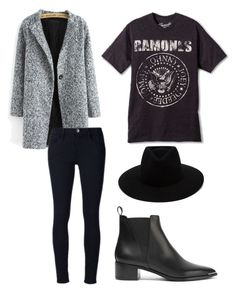 """""""Outfit of today"""" by casteleynjessy on Polyvore featuring mode, Frame Denim, Acne Studios, rag & bone, outfit, ankleboots, teenagers, RAMONES en fashionset"""