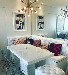 Best Home Bedroom Decoration Benches 20 Ideas Elegant Dining Room, Dining Room Design, Black Kitchen Furniture, Home Bedroom, Bedroom Decor, Dining Table With Bench, Dining Tables, Kitchen Seating, Living Room Decor