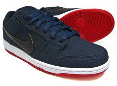 Nike SB Dunk Low Pro x Levi's