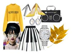 """Fall colours"" by oana-grigorie on Polyvore featuring Jimmy Choo, Rolex and MANGO"