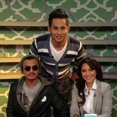 Fizo, Faizal Tahir and Ziana Zain