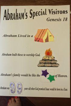 Hands On Bible Teacher: Abraham & Sarah Special Guest