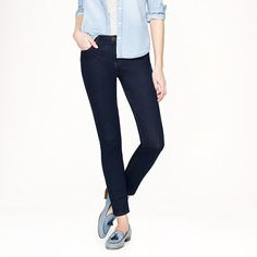 J.Crew - Ever stretch toothpick jean in resin rinse. Size 29 -- when they have a slightly longer length (not ankle)