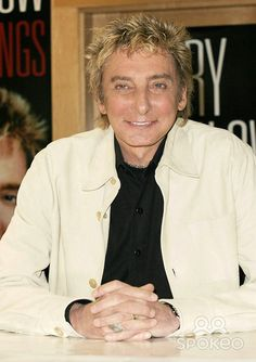 "Barry Manilow at a signing for his new CD, ""The Greatest Songs of the ..."