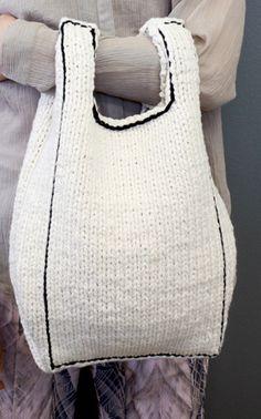 Inspiration : le sac en tricot Novita Oy