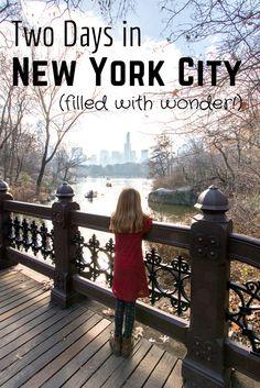 A Wonderful New York Weekend Getaway (including a birthday girl and a hotel…