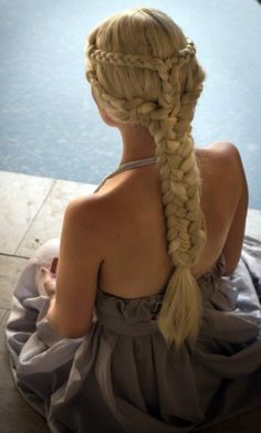 Celtic princess hairstyle.
