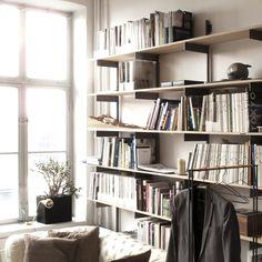 plyshelf   plywood and steel shelf   by Vida Stockholm