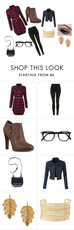 """""""Holiday outfit"""" by joseybrat ❤ liked on Polyvore featuring Topshop, Nine West, The Row, LE3NO, Marika, Charlotte Russe and imthankfulfor"""