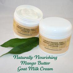 Mango Butter Goat Milk Cream - #etsy by Rose of Sharon Acres $7.50