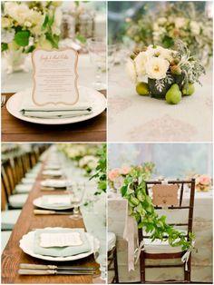Mint Grün & Blush Pink Hochzeit | 2014 Hochzeitsfarben Inspiration | Optimale Karten für Verschiedene Anlässe