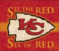 See the RED .. Sea of RED Go CHIEFS!!!