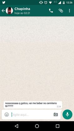 LOL Chapinha, a bebida gótica. | E se as bebidas te enviassem mensagem no WhatsApp às 2 da manhã?