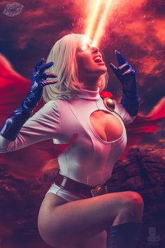 Character: Power Girl (Kara Zor-L, aka Karen Starr) / From: DC Comics 'Power Girl' & 'Justice Society of America' / Cosplayer: Kristen Cantrell (aka Kristen Lanae, aka xXPrettyWhenUCry) / Photo: David Love Photography (truefd) (2017)