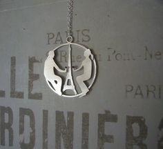 Couple in Paris necklace £70.00