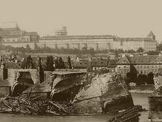 Prague Photos, Heart Of Europe, Colourful Buildings, Fairytale Castle, Street Artists, Photo Archive, Czech Republic, Old Photos, Paris Skyline