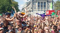 STREET PARADE ZURICH. Aug 02, 2015. Zurich, Switzerland. Inspired by Berlin's Love Parade, Zurich has created a day-long moveable feast for those hungry for music, dancing and good vibes.