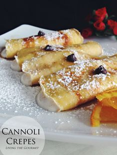 Personally, I prefer crêpes over pancakes. I love that they are very thin and can be rolled up or folded with an either sweet or savory filling. I would love to make a crêpe cake one of these days. On Valentine's Day morning, I had breakfast all planned out in my head – a cannoli...Read More »