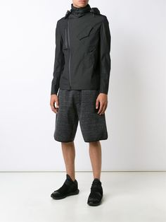 Y-3 - Hooded Shell Jacket
