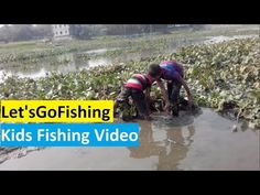 Funny Kids Fishing Video,Kids Catch a Fish and Play with the Fish Let's ...
