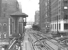 elevated train station images | Chicago ''L''.org: Stations - Franklin & Van Buren