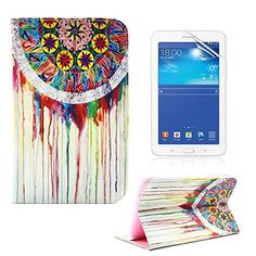 Samsung Galaxy Tab 3 Lite Case -YiaMia(TM) Art Printed PU Leather Stand Protective Case with Card Slots for Samsung Galaxy Tab 3 Lite 7.0 SM-T110 / T111 7.0 Inch Tablet Flip Folio Leather Case Cover for Galaxy Tab 3 [+Screen Protector+Cleaning Cloth] (Dream Catcher Pattern) YiaMia http://www.amazon.com/dp/B00XN14BWQ/ref=cm_sw_r_pi_dp_0tgywb1YV4Q7A