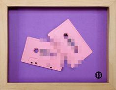 Benoit Jammes → Arte em fita cassete