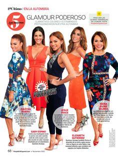 People en Español   Las mejores 5   Gaby Espino & Elizabeth Gutierrez in Gustavo Arango