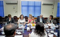 Queen Máxima of The Netherland visit Myanmar as the UN Secretary-General's Special Advocate for Inclusive Finance for Development on on March 30, 2015 in Rangoon.