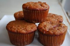 Strawberry Almond Flour Muffins.  They use honey and the berry themselves as the only sweetner!