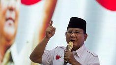 """""""Dijegal oleh orang jahat adalah sebuah kehormatan"""" (Prabowo Subianto)"""