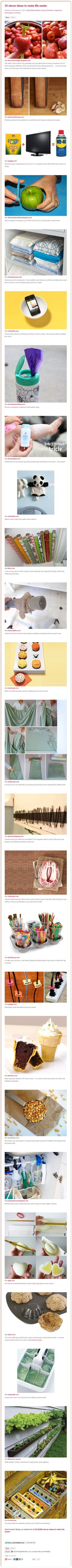 25 Clever, Clever Ideas