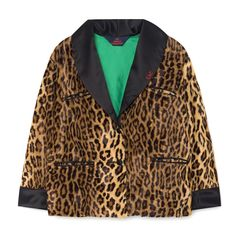 b6b04f37 TAO Cheetah Kids Jacket in Brown Fur by The Animals Observatory - Junior  Edition
