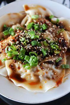 Zhong style dumplings from Gu's Bistro