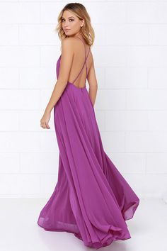 Mythical Kind of Love Purple Maxi Dress at Lulus.com! - good wedding dress