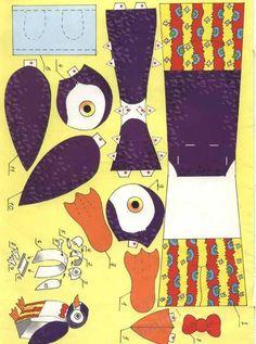 penguin papercraft
