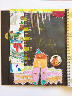 Making art journals