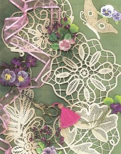Sylvia Murariu's website.  She is the author of fantastic books on how to make Romanian Point Lace.