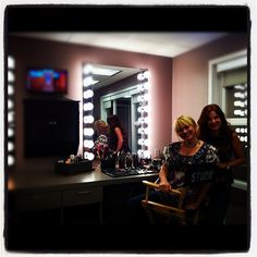 The fabulous beauty team is ready to take on season 7 in their new digs!