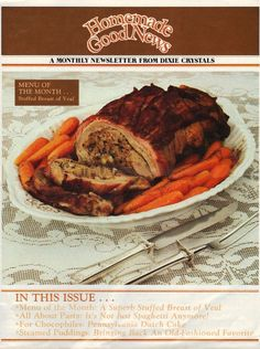 Homemade+Good+News+Vol.II+-+No.12 Retro Recipes, Old Recipes, Vintage Recipes, Cookbook Recipes, Meat Recipes, Food Magazines, Imperial Sugar, Batter Recipe, Online Cookbook
