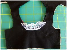 Val Spiers Sews Doll Clothes: Adding Lace to a Sleeve Band for Doll Clothes