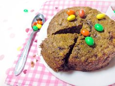 single serving cookie cake (vegan)