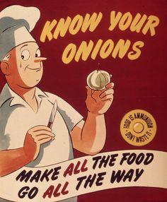 Delicious Vintage Food PSA Posters | Brain Pickings