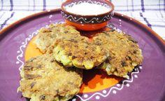 vegetarische burgers recept met zelfgemaakte gezonde knoflooksaus.