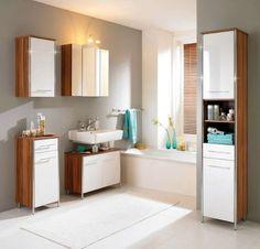 Arredare il bagno in stile scandinavo - Arredi in bianco e legno