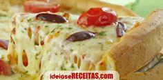 Uma receita infalível para uma massa de pizza crocante e deliciosa em poucos minutos tal como nas pizzarias.
