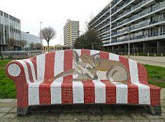 Social Sofas in Heerlen (NL) (Rick & Bart) Tags: bench mosaic nederland thenetherlands bank heerlen mozaek rickbart socialsofa rickvink anslemmens
